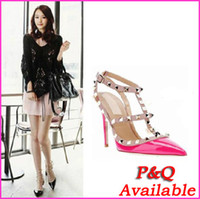 Wholesale Time limited Discount New Fashion Sexy Pointed Toe Women Pumps cm High Heels Ladies Wedding Pumps Party Dress Shoes
