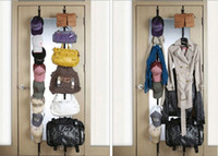 Wholesale Hot Sale Set Home Product Cloth Robe Storage Upon Hooks Hanging On The Back Of The Door Wardrobe
