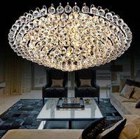 Wholesale Luxury Living Room Ceiling Lamp Fixture K9 Crystal Chandelier LED Lighting