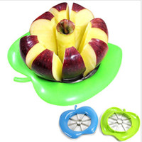 Wholesale New Arrivals Stainless Steel Apple Slice Cutter Tools Convenient Fruit Knife Freeshipping