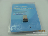Wholesale set card package Mini Mbps150M WIFI USB IEEE n g Wireless Network Adapter WLAN Card
