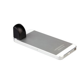 Discount magnetic phone lens Mini Detachable Magnetic Smartphone Periscope Kleptoscope Lens for iPhone 5 4 4S Samsung S4 S3 HTC Phones PA1542