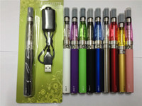 Black ego-t - ego ego t CE4 kits ml OHM Atomizer clearomizer Electronic Cigarette mah MAH MAH vape E Shisha pen blister pack e cigarette