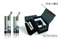 Wholesale Matrix Ninja Degree Rotation Atomizer Ecab W Foldable Nozzle Electronic Cigarette mah mah mAh Battery E Cig