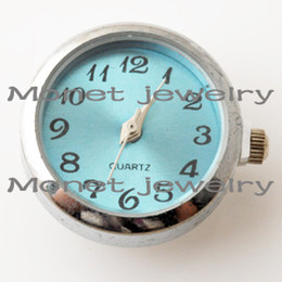 Wholesale A04040 OEM welcome newest watch chunks for bracelet noosa watch chunk for rings different colors