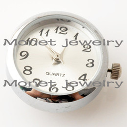 Wholesale A04041 newest watch chunks for bracelet noosa watch chunk for rings different colors