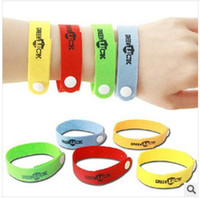 Other Men's Silicone wholesale free shipping new natural Mosquito insect bracelet band writst band Repellent Bracelet