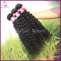 "Malaysian Hair Curly JQ-02-kinky curly Free shipping 3pcs lot joyful queen hair product malaysia 10""-30"" mixed lengths color 1b# unprocessed 5a malaysian kinky curly virgin hair"