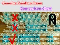 Wholesale Zorn Store Genuine Rainbow loom Loom bands Top Quality Rainbow Loom Kit MOQ kits