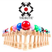 Wholesale Traditional Wood Game Toy Fitness Balls Wooden toys Japanese sword skills ball toy sword jade coordination fitness ball large Kendama Ball