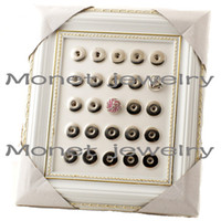 Wholesale A19592 photo frame jewelry display for noosa chunk noosa jewelry