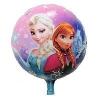 High quality 45cmx45cm Frozen bubble balloon new Frozen ball...