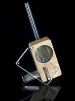 Wholesale Dry Herb Vaporizer Magic Flight Launch Box Vaporizer Complete Wooden Click Lock Vape For Dry Herb Vaporizer by DHL