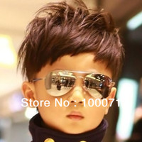 Wholesale New Cool Fashion Baby Children Kids Boy Girl Sunglasses Metal Frame Child Goggles