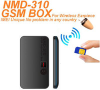 Wholesale IMEI Unique New W GSM BOX NMD for Hidden In Ear Audio Receiver wireless earpiece