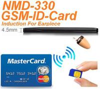 Wholesale New W GSM ID BOX for Hidden In Ear Audio Receiver wireless earpiece spy Kit