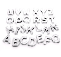 Charms best pet collars - Best price mm smooth slide letters A Z fit MM bracelets of women belt pet collars keychain
