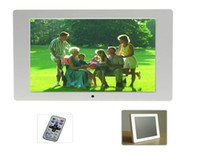 Wholesale 10 inch Digital Photo Frame Ultra Thin Multi function Inch Digital Photo Frame white black