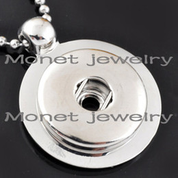 A10659 OEM ,ODM welcome newest pendent noosa chunk necklace charms noosa charms can be customized