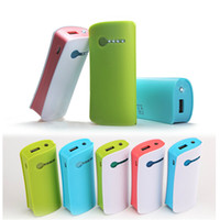 For LG   5200mAh NEW Power Bank Battery Charger Portable Emergency External Battery Charger for iphone 4 5 Samsung S3 S4 Colorful