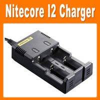 Electronic Cigarette Charger as pictures Intellicharger i2 Nitecore Universal Battery Charger With EU Plug For 26650 18650 14500 CR123A 16340 Ni-MH AA AAA C Battery(0205008)