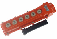 Push Button Switches Yes COB-63 (1)For Hoist And Crane Control Station Push Button Switch 6Ways COB-63 Rainproof