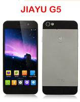 Original JIAYU G5 avanzada Smartphone MTK6589T Quad Core 1.5GHz 13MP cámara Gorilla Glass 4.5 '' WCDMA IPS 2GB 32GB 3G Android4.2