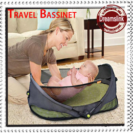 Wholesale New Arrivals baby travel bassinet baby bed folding outdoor infant sleep crib bed baby cot Little Spring PC