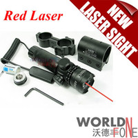 Wholesale Super Power Tactical Strike Head Adjustable Red Green Laser Sight Scope With Mounts Switches WF LS02