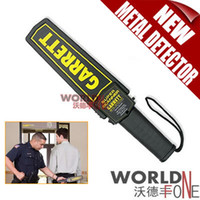 detector - Brand New High Sensitivity Garrett Super Scanner Hand Held Gold Metal Detector For Security Detectors High quality WF MD19