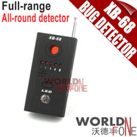 Wholesale Anti spy Wireless RF Camera Bug Detector Tracer XB Full range All round Detector WF RD17