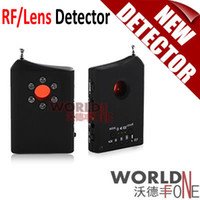 Wholesale Sensitive RF Signal GSM Bug Detector Hidden Camera Lens Bugging Device Finder WF RD16 Worldfone
