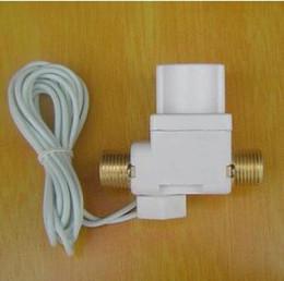 Wholesale 3m Wire quot BSPP Water Brass Plastic Solar Solenoid Valve V N C Non Return