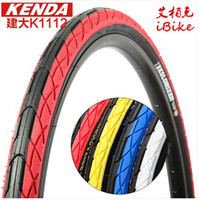 Wholesale 2pcs Kenda K1112 inch Bicycle Tire Mountain MTB Road Hybrid Bike Tyre Tires Bicycle Parts Non folding