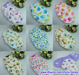 Wholesale Fashion New Korean Swaddle Newborn Sleeping bags Layers baby sleepsacks wraps Baby Swaddling Sleep Bag Infant Wrap