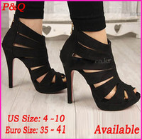 Wholesale 2014 New Fashion Sexy Open Toe Women Pumps cm High Heels The Peep Toe Wedding Pumps Party Dress Shoes