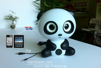 Wholesale cocopanda USB speakers Lovely and beauty Audio player Surround Music player PaPa Panda sound FOR mp3 mp4 psp