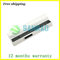 Li-Ion eee pc 4g - White cells mAh replacement laptop battery for ASUS Eee PC G G G Surf Series Eee pc700