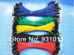 Wholesale Drop shipping New New Random Color p to p cm male to male jumper wire Dupont cable for Arduino