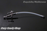 Male Catheters & Sounds 100% Stainless Steel Silicone Urethral Sound Sex Toys Stainless Steel Sex Products Metal Cock Ring Butt Plug Penis Plug Catheter
