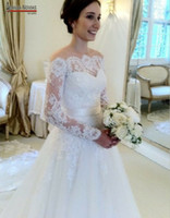 A-Line Model Pictures Scoop Custom Made_New arrivals real photos hot sale lace wedding dress 2014