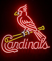 Wholesale St Louis Cardinals Handcrafted Neon Light Sign