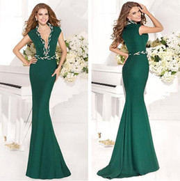 Wholesale 2014 Crazy Hot New Fashion Sexy Top Quality Mermaid Tarik Ediz Evening Dresses prom dresses