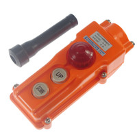 Push Button Switches Yes COB-61H (1) COB-61H For Hoist Crane Pendant Control Station Push Button Switch Emergency