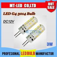 Détail de la livraison Gratuite à Haute Puissance SMD 3014 3W 12V G4 LED Lampe de Remplacer 30W lampe halogène 360 Angle de Faisceau Ampoule à LED lampe d'éclairage de la garantie 2 ans
