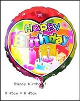 Wholesale Birthday Balloon inch Aluminum Balloon Helium Balloon Novelty Balloon Birthday Party Supplies Children s Classic Toys Self sealing