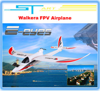Electric 2 Channel 1:4 Walkera E-eyes FPV PNP RC airplane glider planes with brushless motor radio control airplane remote control toys Free shipping