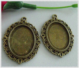 Wholesale DIY jewelry accessories antique Bonze color Picture frame charms frame pendants x29mm