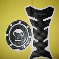 ABS abs pads - Carbon Fiber Fuel Tank Pad Gas Cap Cover