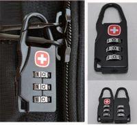 mini padlock - 100pcs Backpack combination lock Swiss army knife combination lock luggage suitcase BaoSuo mini padlock computer lock